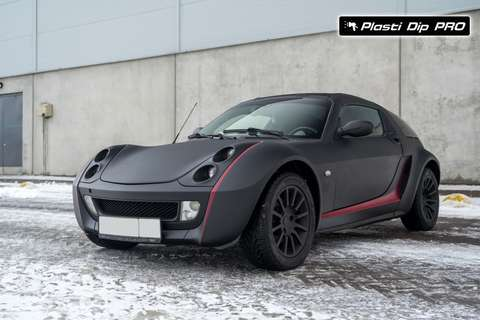 Raptor U-Pol Smart Roadster Черный